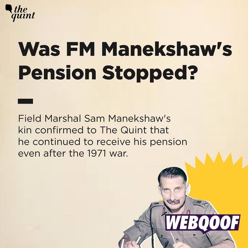Gaurav Arya's Claims About Army, Sam Manekshaw's Pensions Are Fake