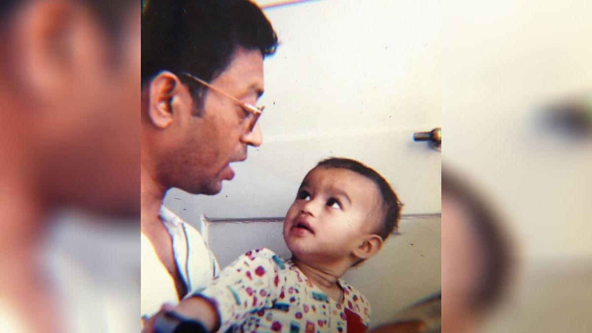 Irrfan Khan with son Babil.