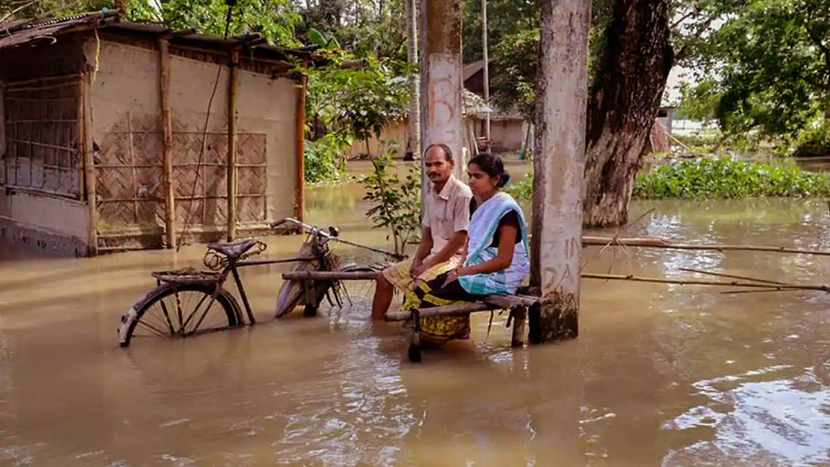 Assam Floods: At Least 66 Dead, Lakhs Displaced, Losses in Crores