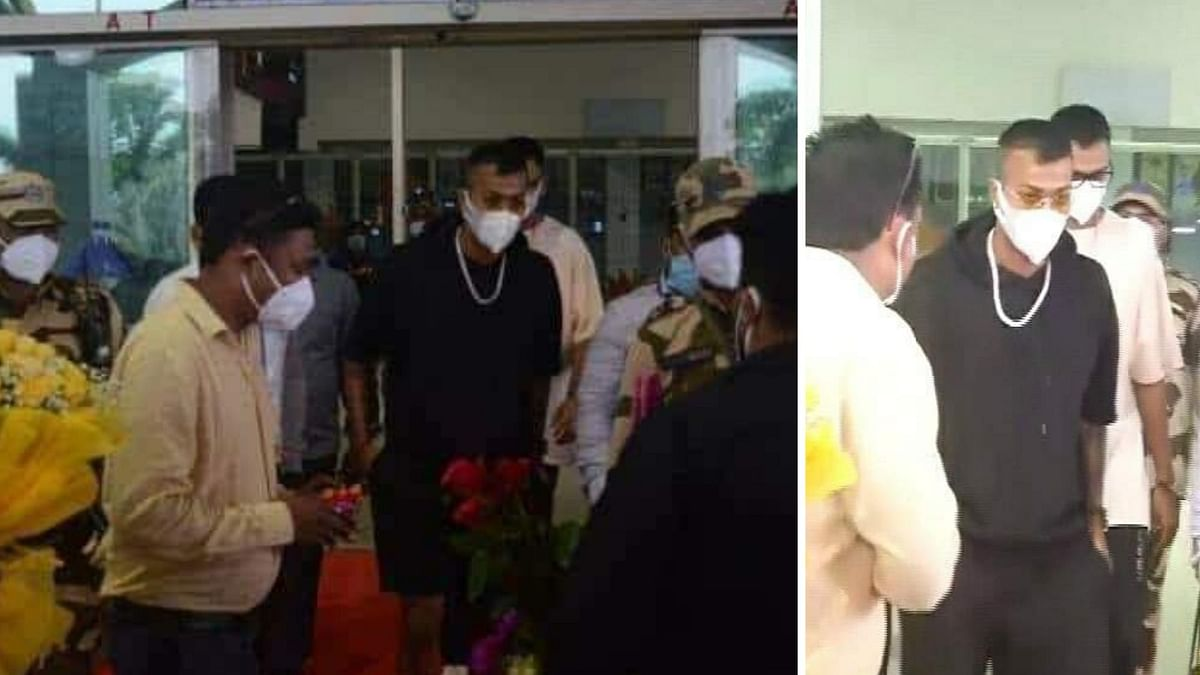 Hardik and Krunal Pandya Travel to Ranchi on Dhoni's Birthday