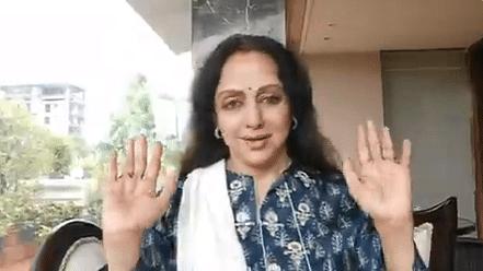 I'm Healthy: Hema Malini Rubbishes Rumours of Hospitalisation