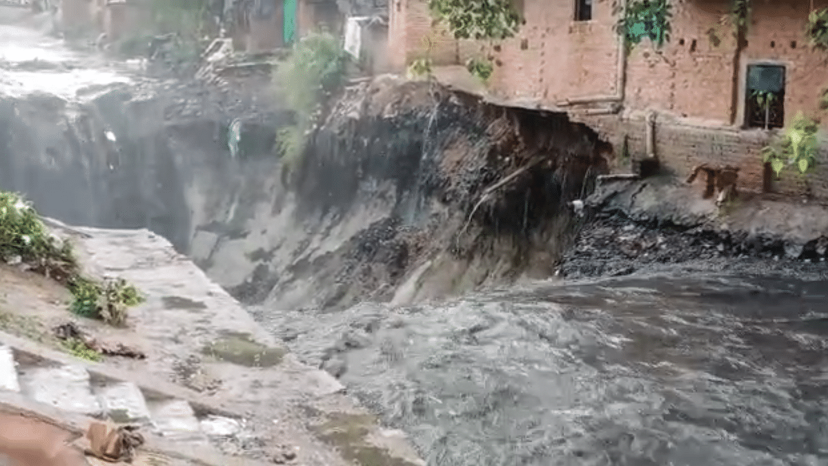 Homes Washed Away, Roads Collapse in Delhi's ITO After Heavy Rain