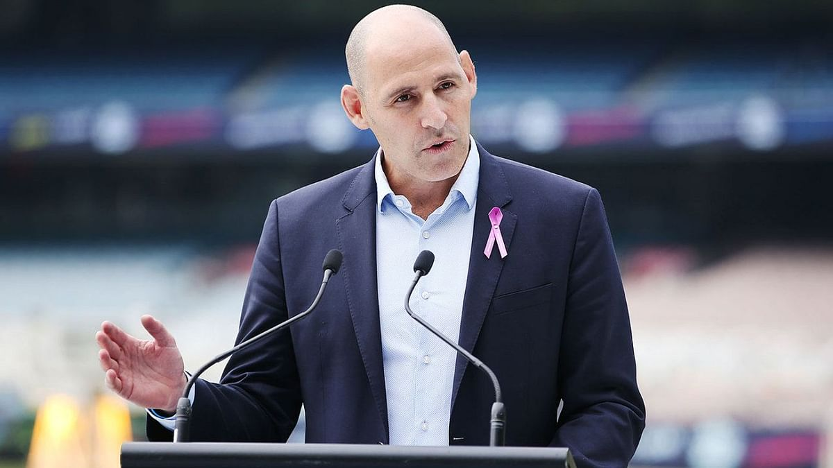 Cricket Australia's Chief Executive Nick Hockley.