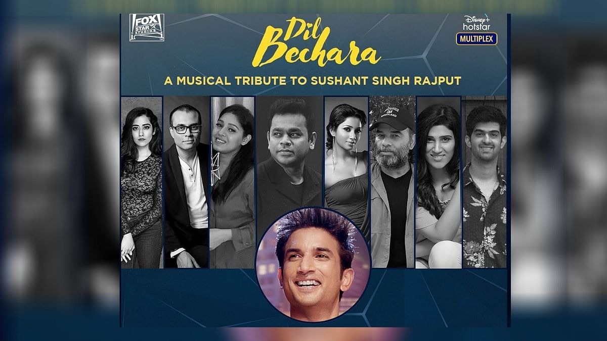 The musicians of Dil Bechara pay a tribute to Sushant Singh Rajput