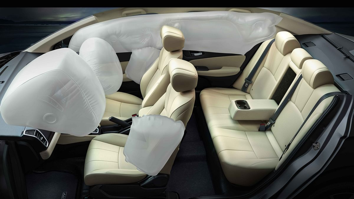 The central government has made front passenger (next to the driver) airbags, mandatory for all vehicles.