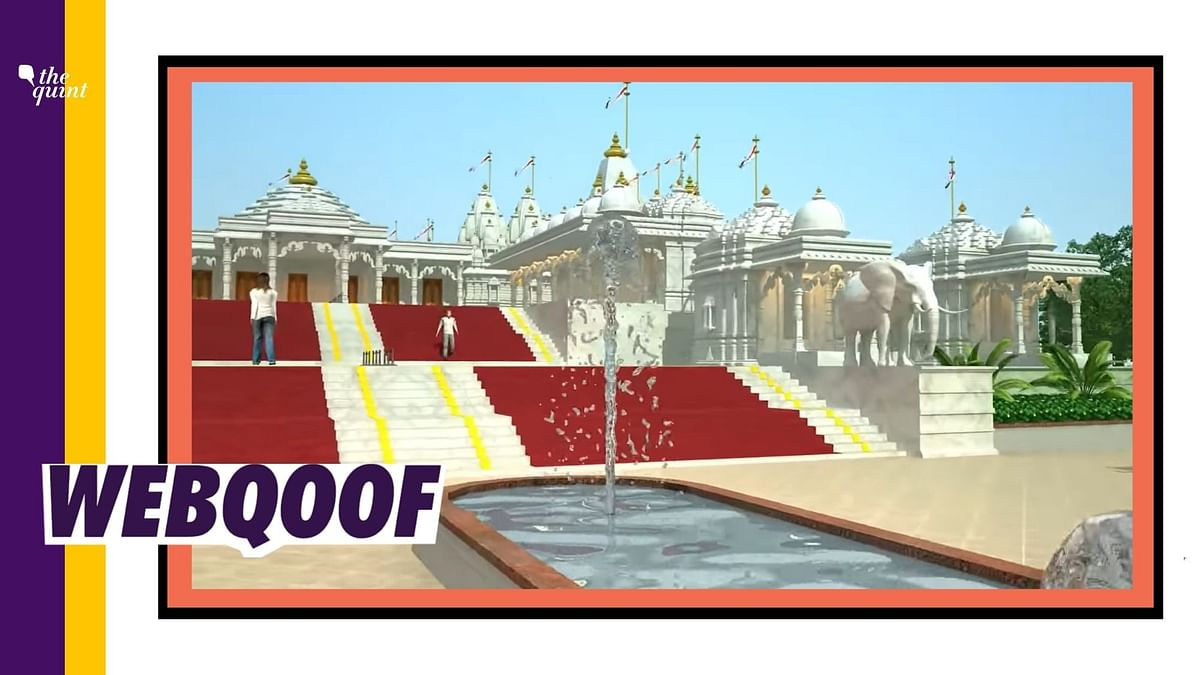 Jain Temple's Model Viral as 3D Animation of Ram Mandir in Ayodhya
