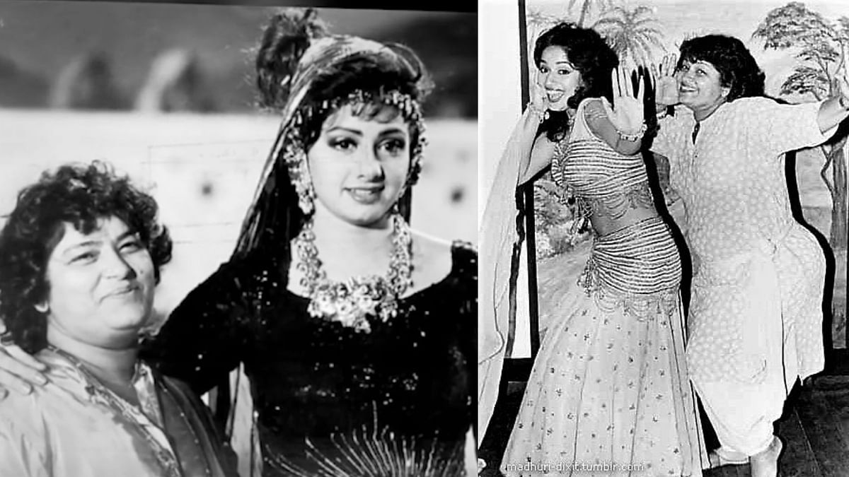 In Pics: Down Memory Lane with 'Masterji' AKA Saroj Khan