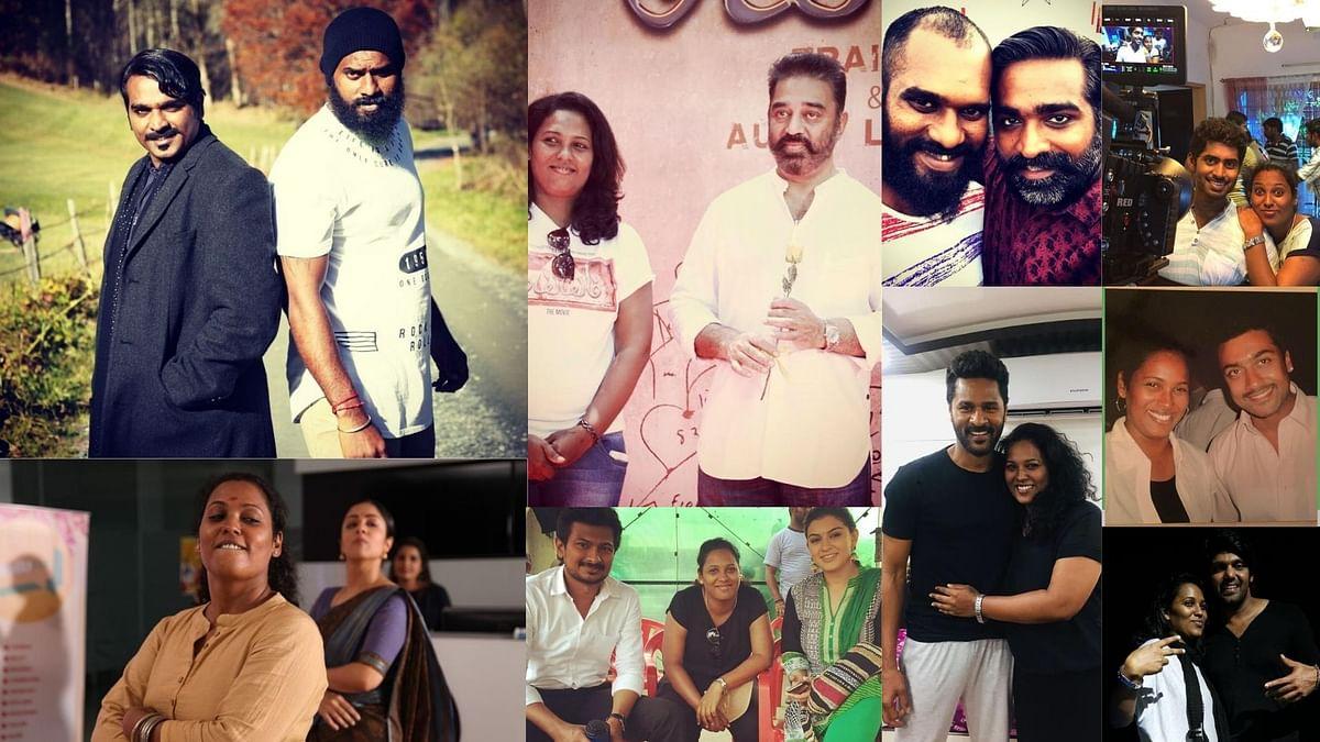 Choreographers Satish Babu and Viji are familiar faces behind the screens in Kollywood.
