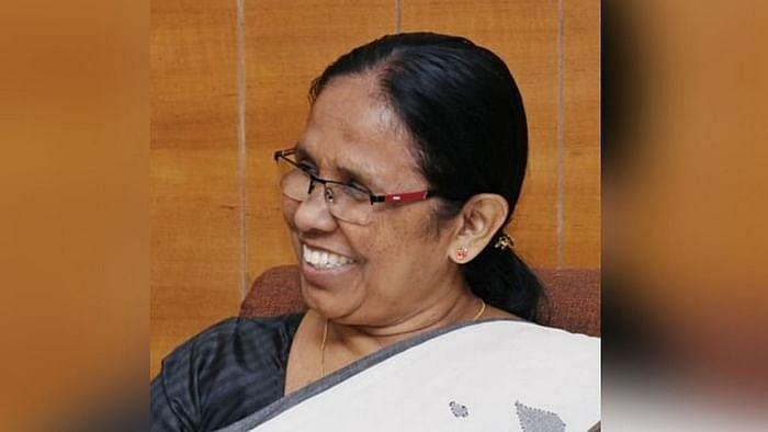 Image of KK Shailaja used for representational purposes.