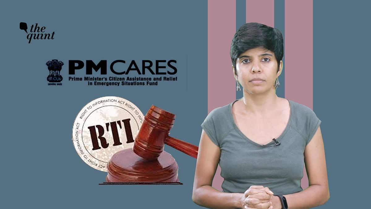 Video | 5 Reasons Why the PM CARES Fund Should Come Under RTI