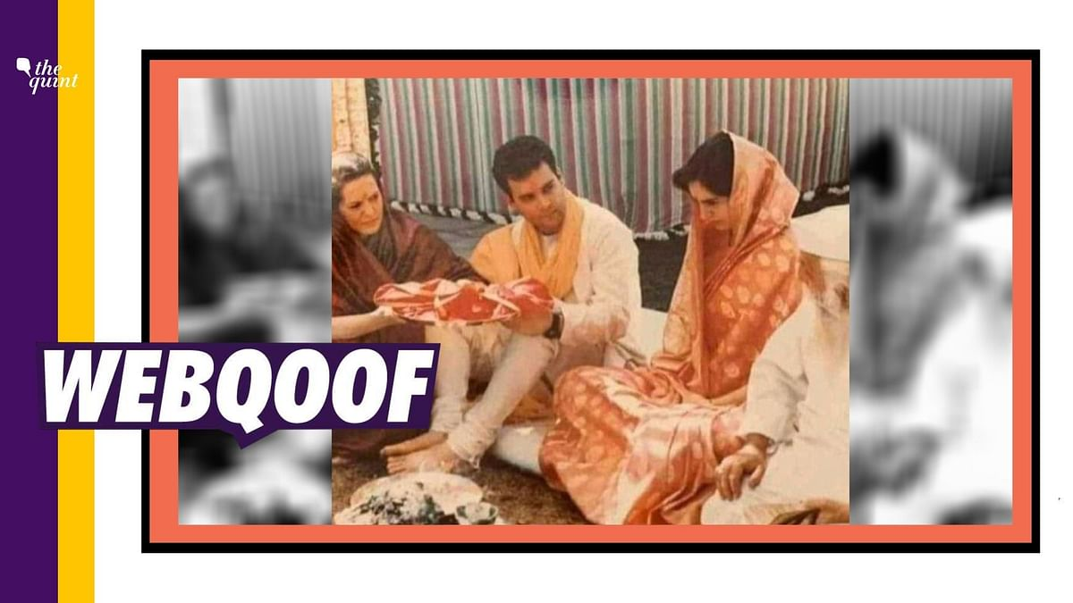 No, a Maulvi Didn't Perform Priyanka Gandhi's Wedding Rituals