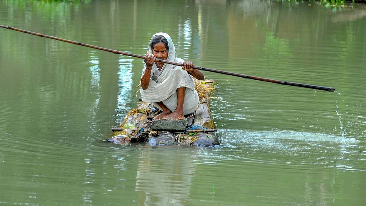 In Photos: Millions in Distress as Floods Ravage Assam and Bihar