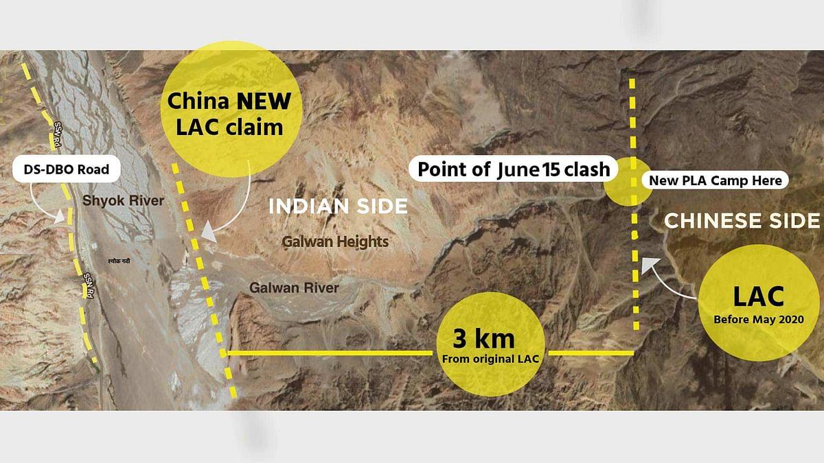 Site of 15 June Clash