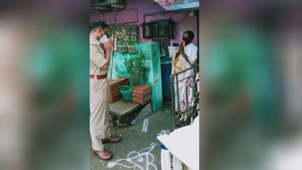 Chennai Cop Helps Woman Get Her Job Back After COVID Recovery