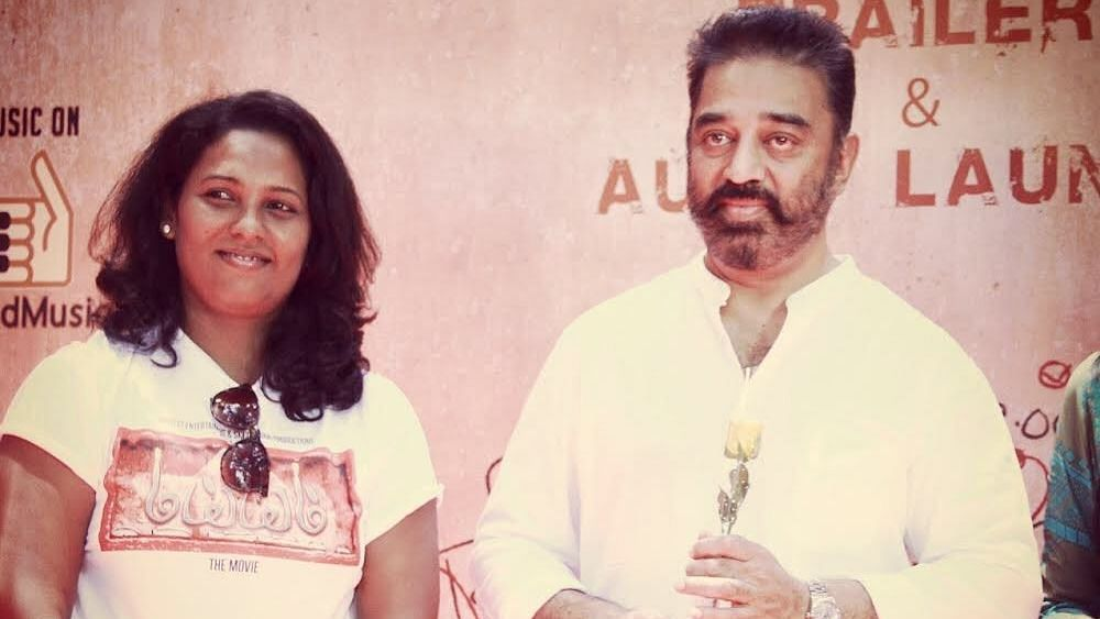 Assistant choreographer Viji worked with  actor Kamal Haasan for the film <i>Dhasavatharam</i>.