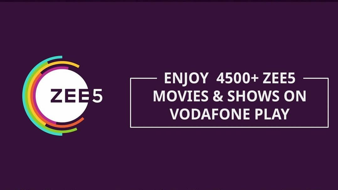 Here's How Vodafone Customers Can Enjoy ZEE5's Premium Content