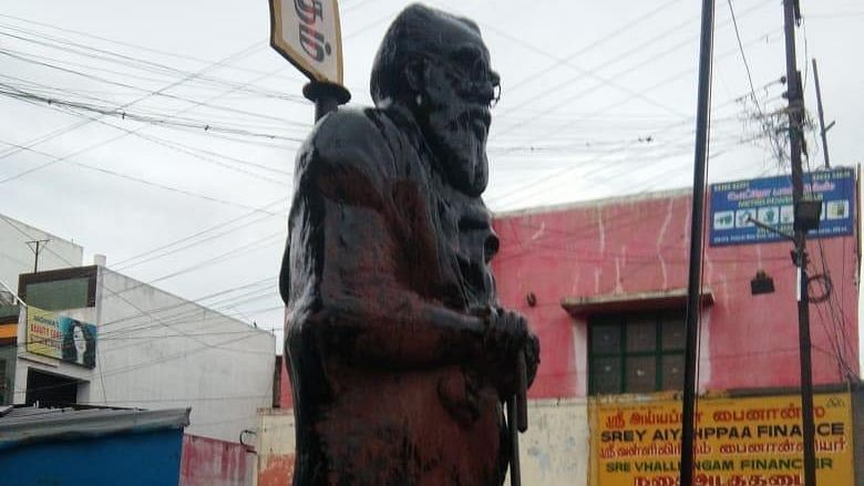 Periyar Statue Smeared With Saffron in Coimbatore, Probe Underway