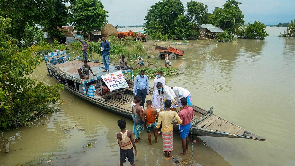Over 3.5 Million People Affected as Floods Ravage Bihar & Assam