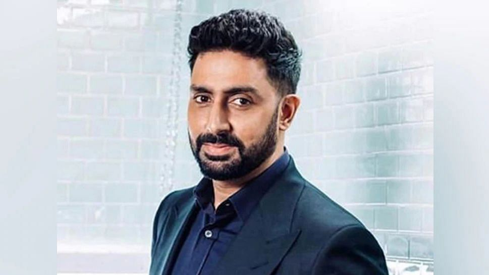 Abhishek Bachchan shares good news on Twitter.