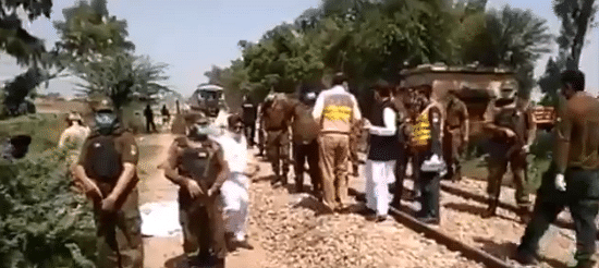 At Least 19 Sikh Pilgrims Die as Bus Collides With Train in Pak