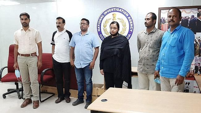 The two key accused Swapna Suresh and Sandeep Nair have been sent to 14-day judicial custody by the National Investigation Agency in Kochi.