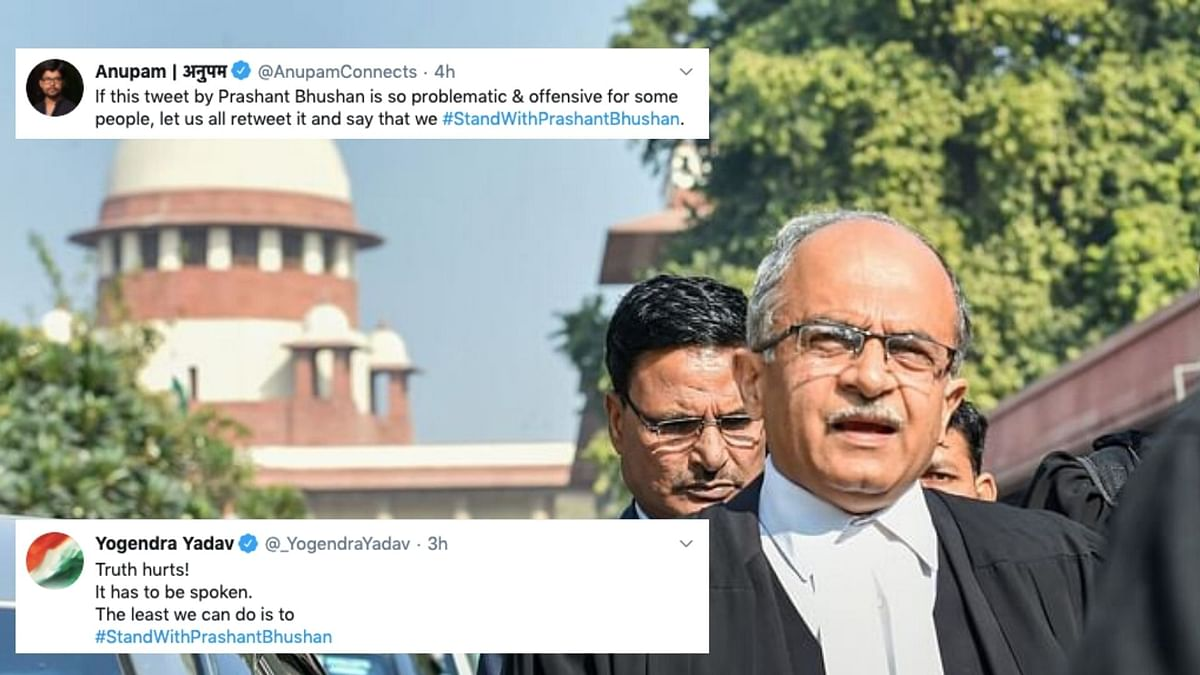 'Truth Hurts': People React to SC's Notice to Prashant Bhushan