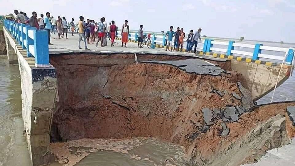 '2 Kms Away': Bihar Govt Denies Reports of Bridge Collapse