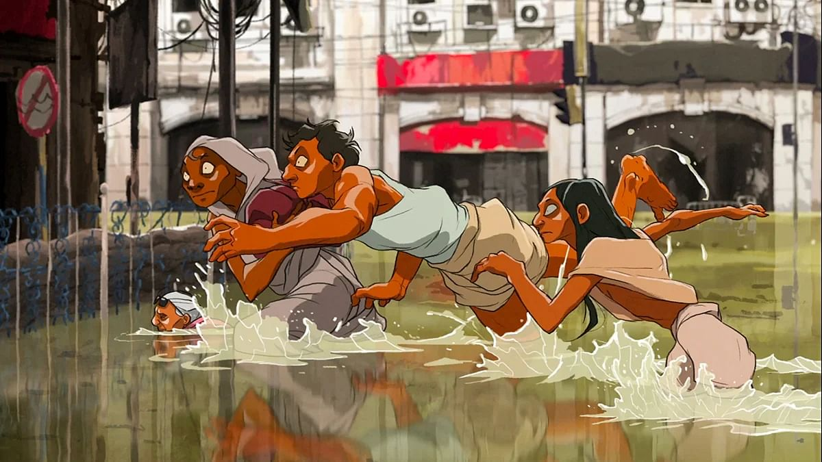 Wade imagines what will happen if a rising sea floods the capital of West Bengal.