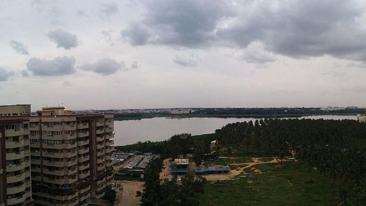Image of Bellandur lake used for representation