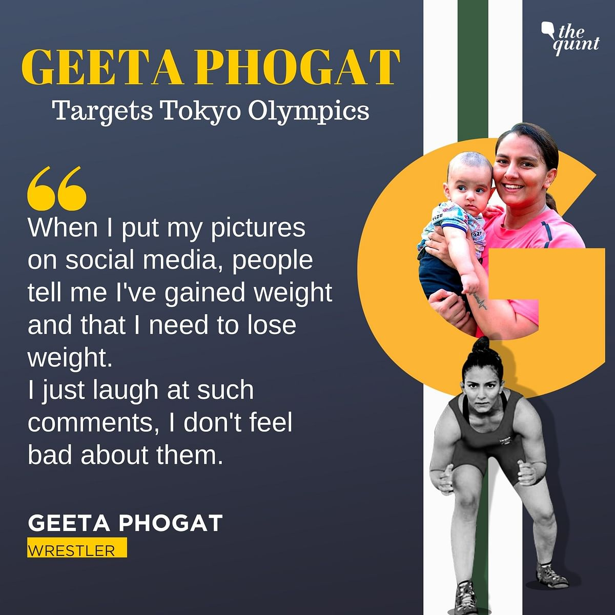 New Mother Geeta Phogat Sets Sight on Postponed Tokyo Olympics