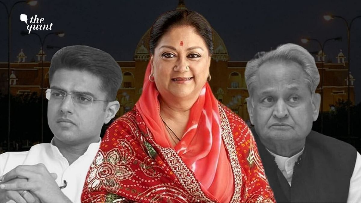 'People of Rajasthan Paying for Discord Within Cong': BJP's Raje
