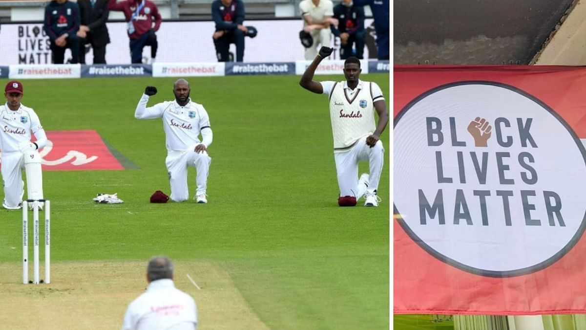 Watch: Cricket Returns With Tribute to Black Lives Matter Movement