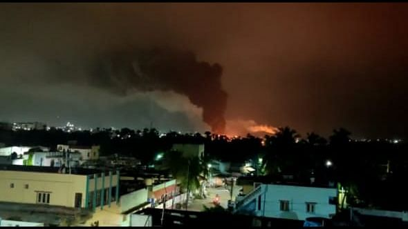 Fire Engulfs Pharma Unit Near Visakhapatnam; Worker Injured