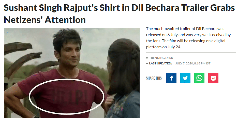 It's About Time We Let Sushant Singh Rajput Rest In Peace