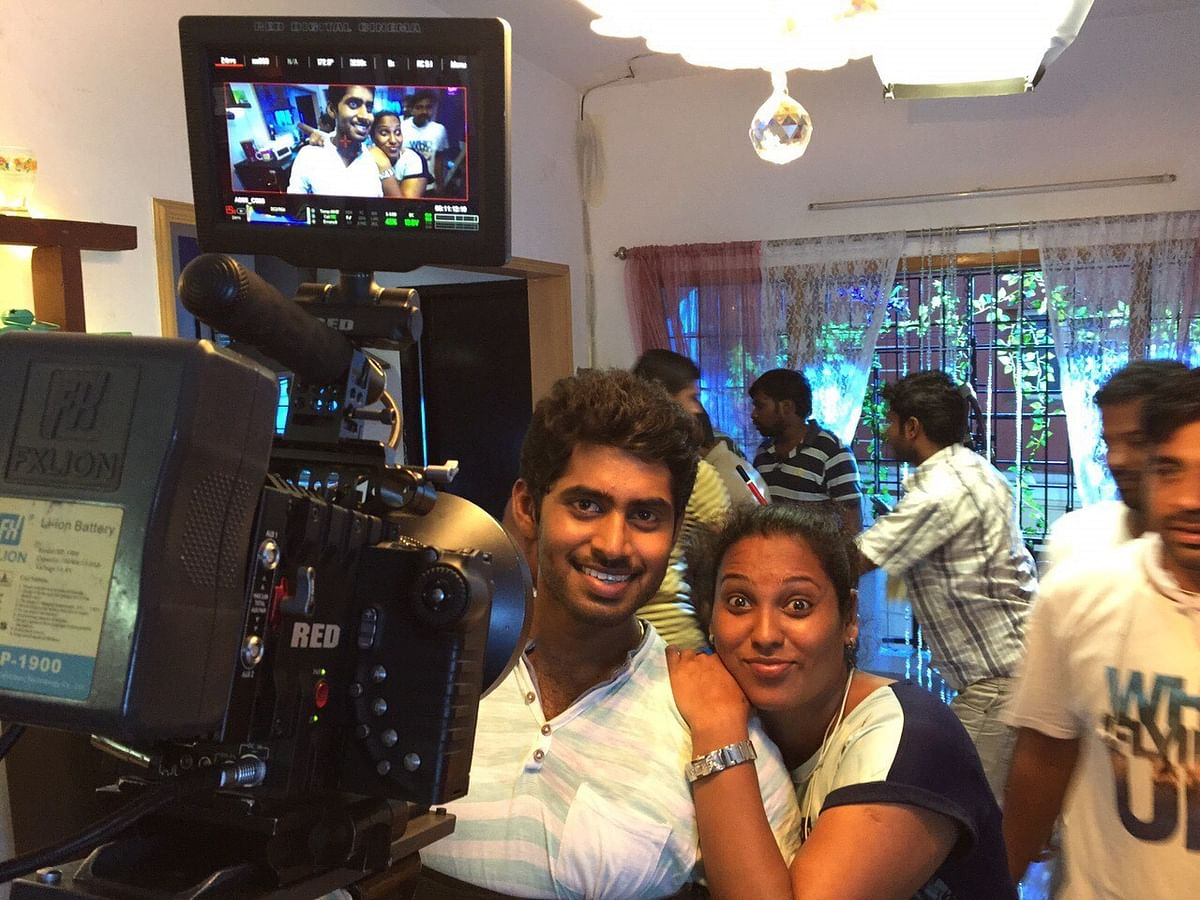 Assistant choreographer Viji worked with actor Kathir for <i>Kirumi, Ennodu Vilayadu.</i>
