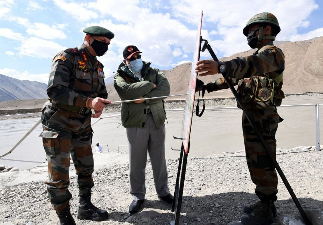 PM Modi in Ladakh.