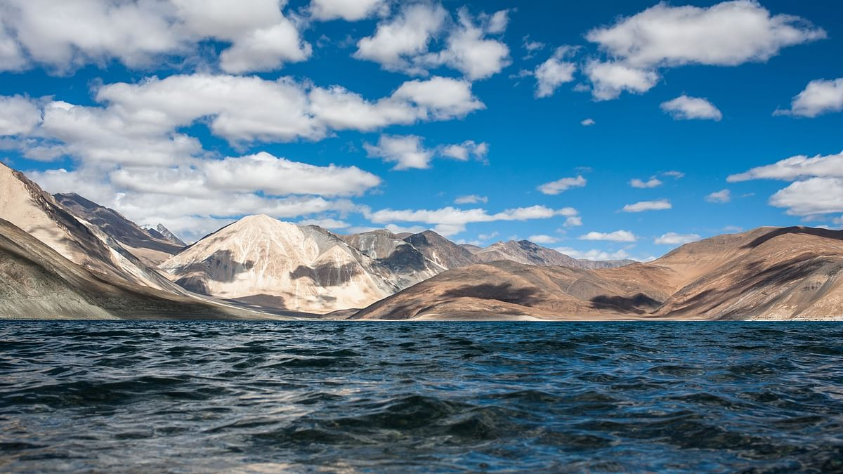 The Pangong Tso Lake in eastern Ladakh. Image used for representation.
