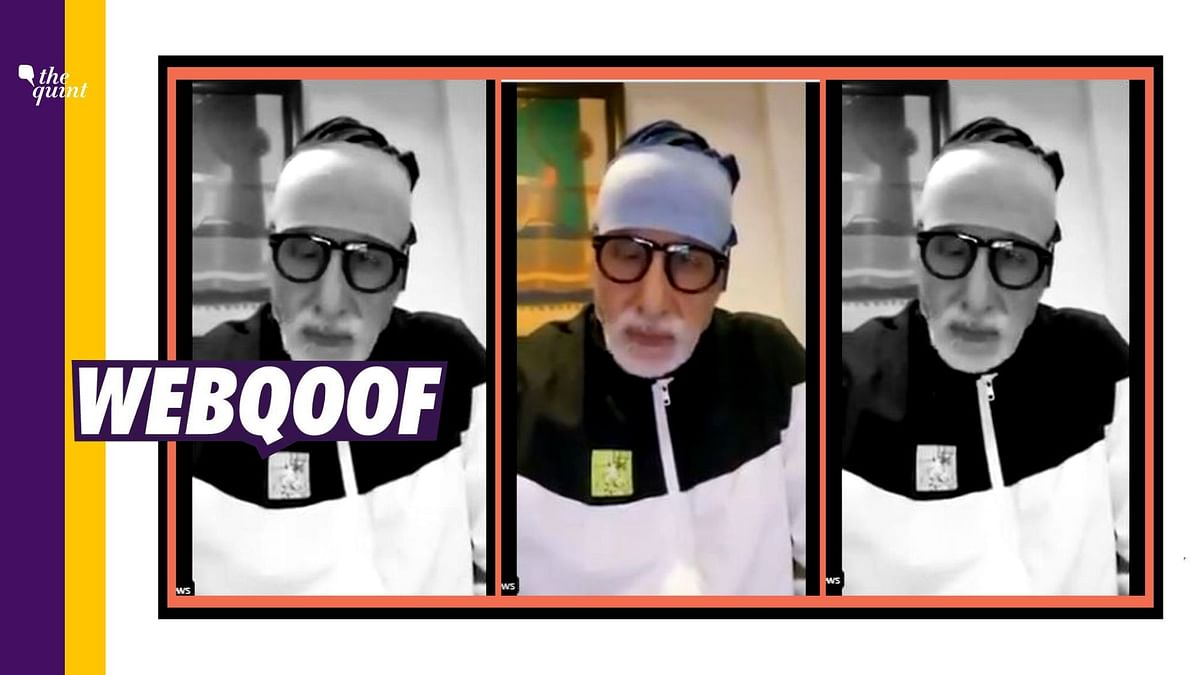 Viral Video of Amitabh Bachchan Thanking Nanavati Medics is Old