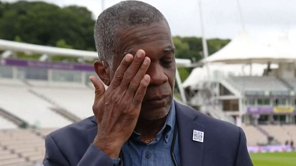 Windies Great Michael Holding Breaks Down While Discussing Racism