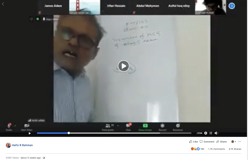 A Bangladeshi Facebook user had uploaded the video on 29 June.