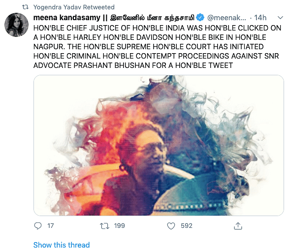 "<a href=""https://twitter.com/meenakandasamy/status/1285690910563536896"">https://twitter.com/meenakandasamy/status/1285690910563536896</a>"