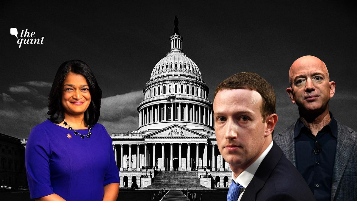 Among the 15-member sub-committee that investigated Amazon, Apple, Facebook and Google for over a year and led a fierce interrogation of their CEOs on Thursday was Representative Pramila Jayapal.