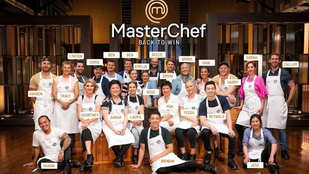 The contestants of Masterchef Australia 2020.