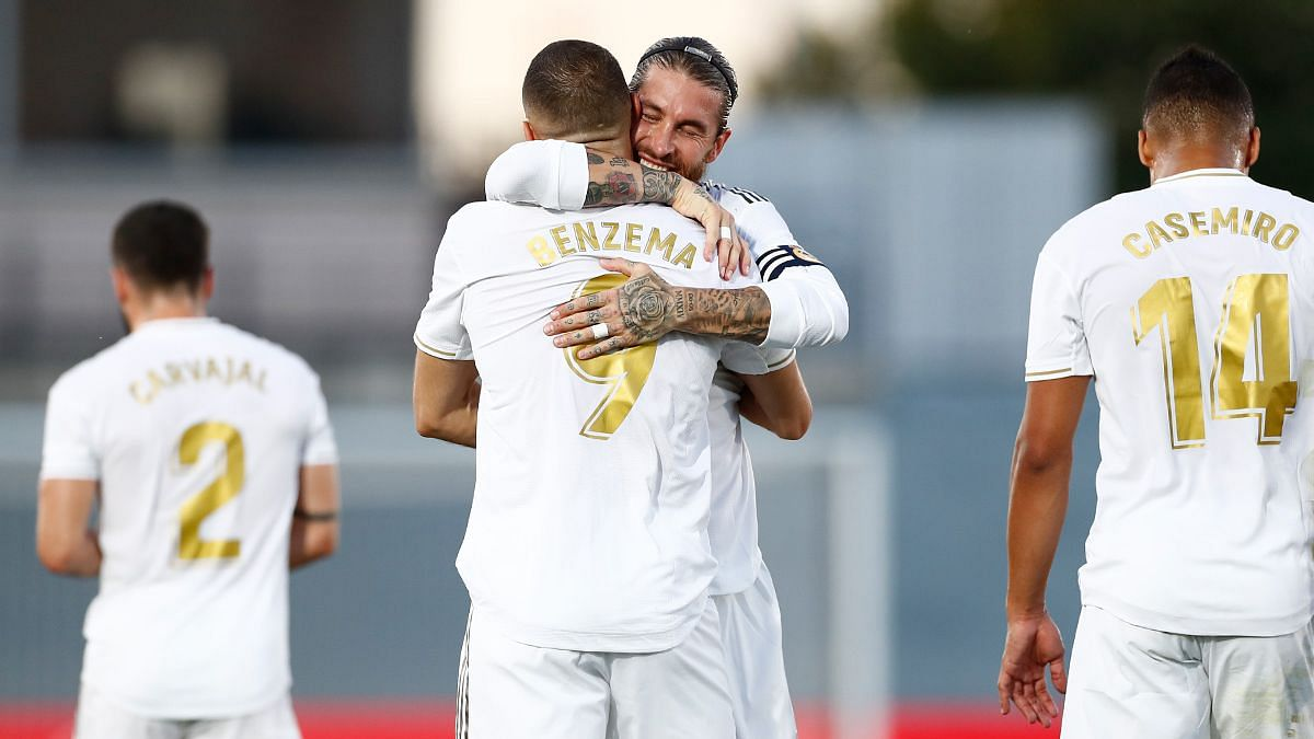 Benzema Double Helps Real Madrid Secure 34th La Liga Title