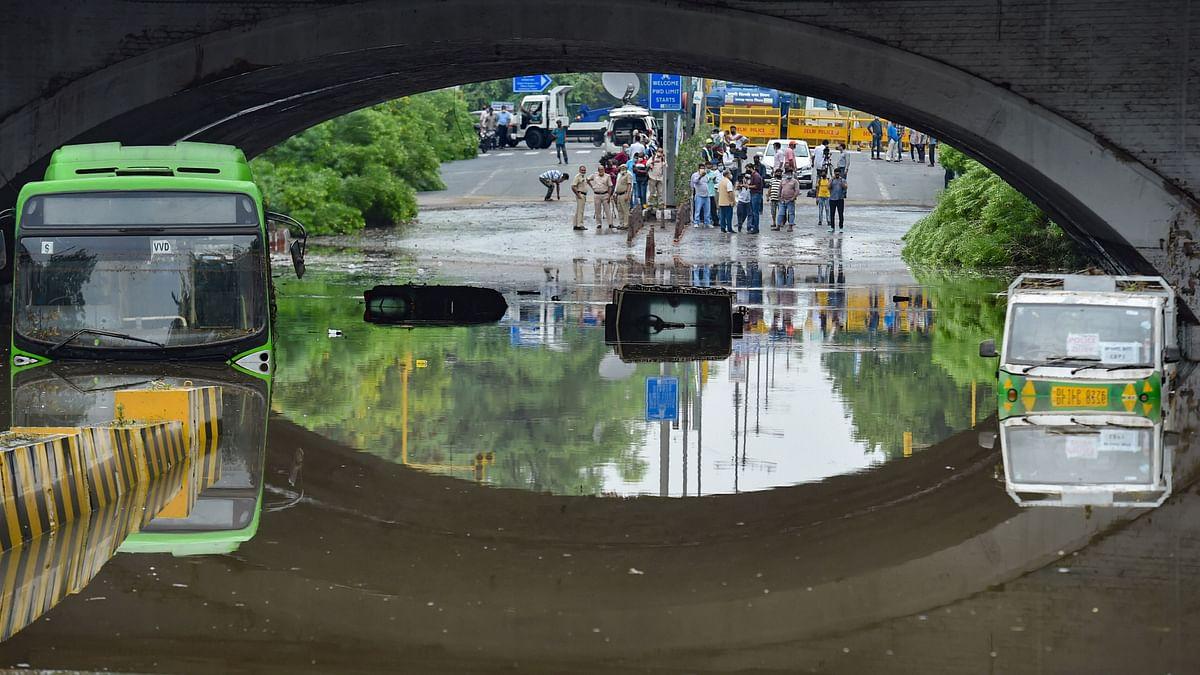 3 Dead in Delhi as Roads, Homes Waterlogged After Heavy Rain