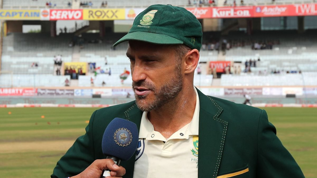 All Lives Don't Matter Until Black Lives Matter: Faf du Plessis