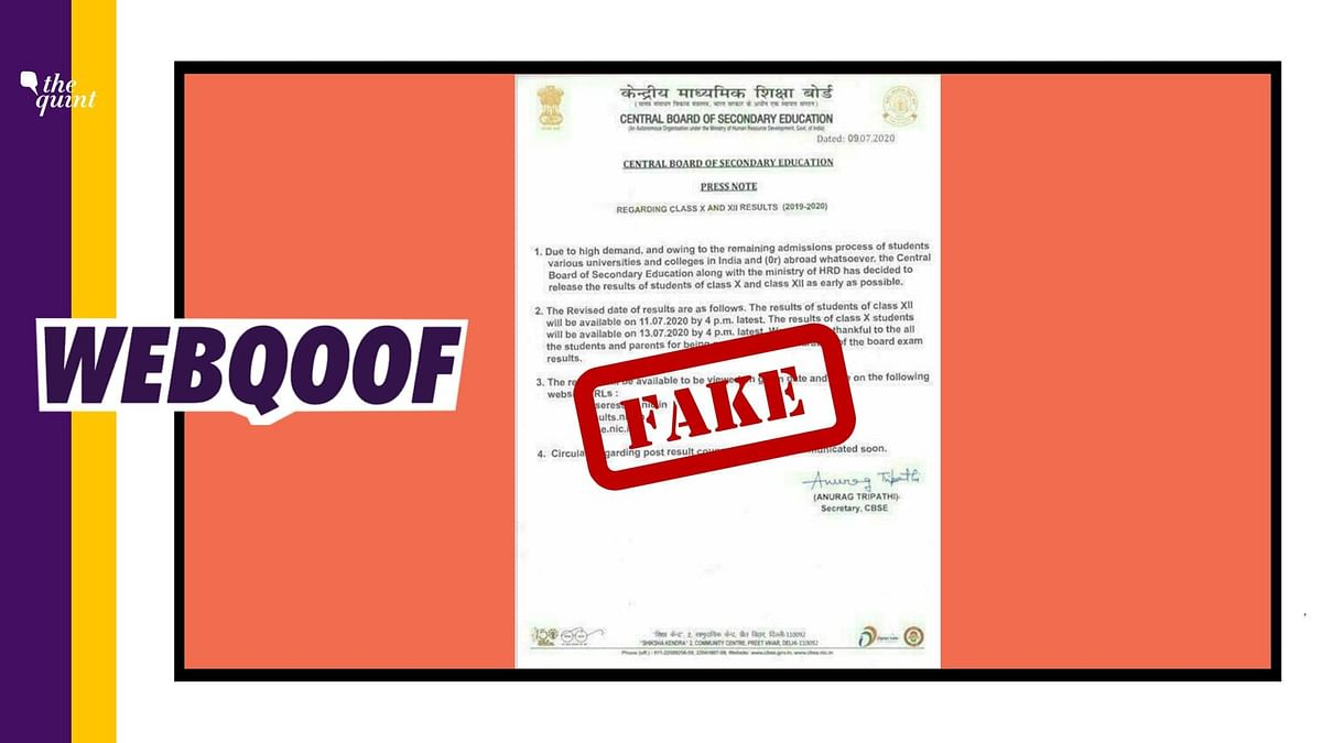 Has CBSE Declared Result Dates for Class 10 &12? Circular is Fake!