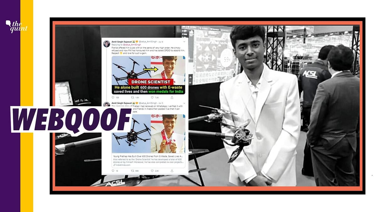 PM Modi Inducts Young Karnataka Scientist Prathap Into DRDO? No
