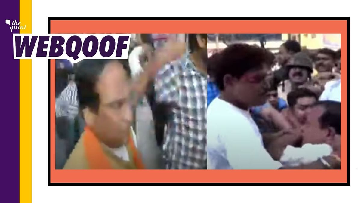 Old Videos From West Bengal Viral as 'BJP MLA Beaten Up in  Patna'