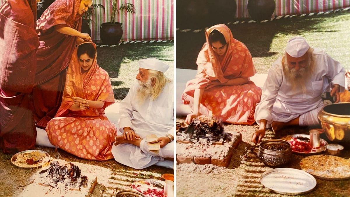 No, a Maulvi Didn't Perform Priyanka Gandhi's Wedding Rituals